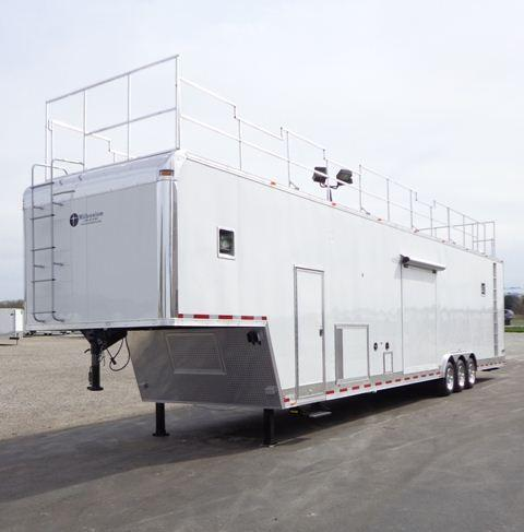 Millennium Trailers 48' Military Command Trailer