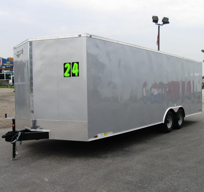 2020 24' Value Hauler Wedge Enclosed Cargo Trailer