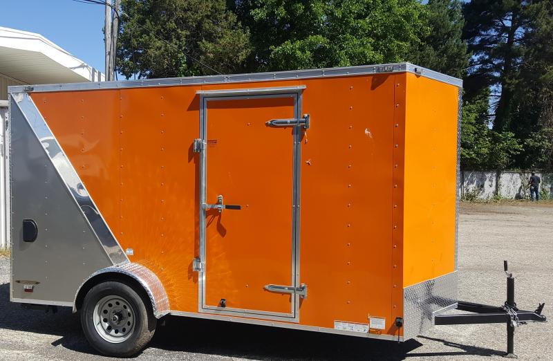 2017 6'x12' Value Hauler Wedge Enclosed Cargo Trailer