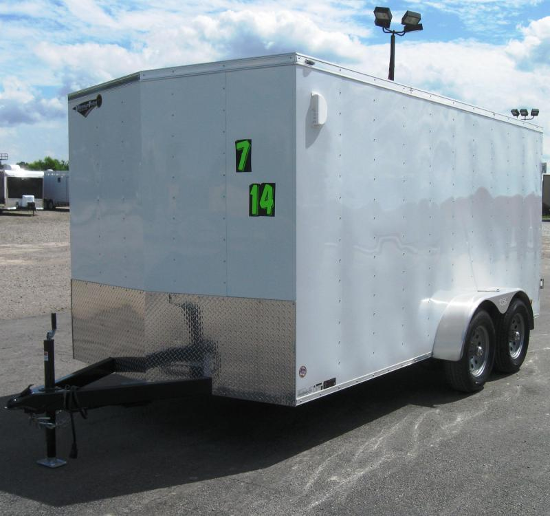 2017 7'x14' Scout Enclosed Cargo Trailer