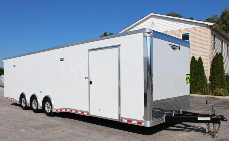 Now Ready 2019 32' Millennium Extreme Race Trailer Spread Axles 16