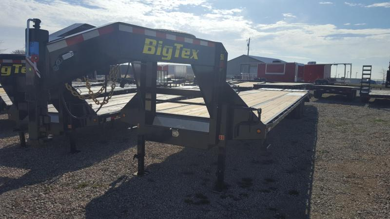 2018 Big Tex Trailers 22GN Equipment Trailer