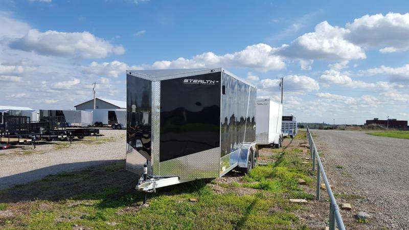 2017 Stealth Trailers Aluminum BlackHawk Enclosed Cargo Trailer