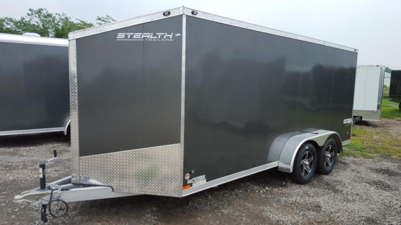 2016 Stealth Trailers 7x14 Super Lite Cargo / Enclosed Trailer