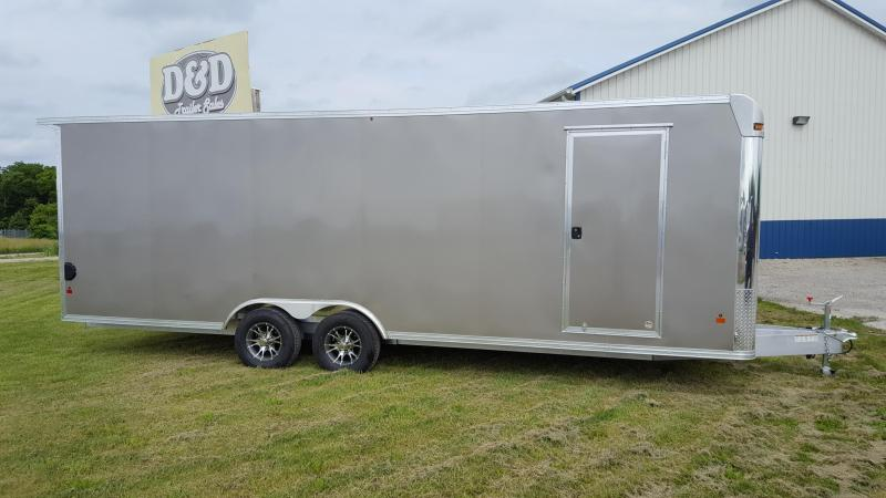 2016 Mission EZ HAULER Enclosed Cargo Trailer