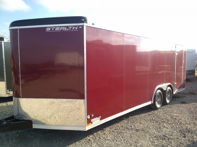 8.5x20 Stealth Liberty Enclosed Trailer