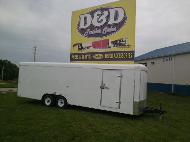 2014 H and H Trailer TC24 Cargo / Enclosed Trailer