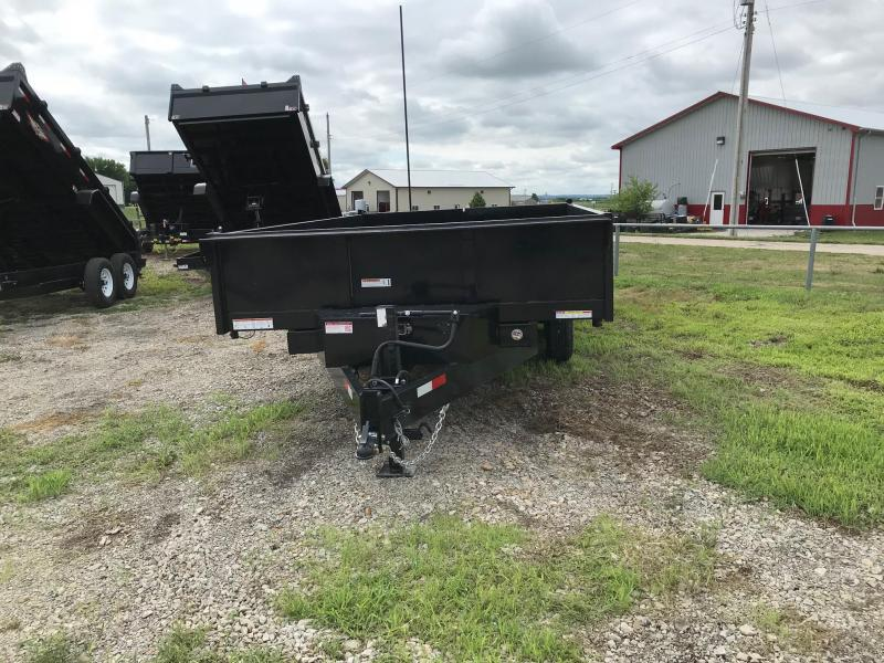 2018 H and H Trailer STH9614 Dump Trailer