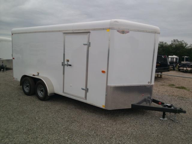 2013 H and H Trailer TC16 Cargo / Enclosed Trailer