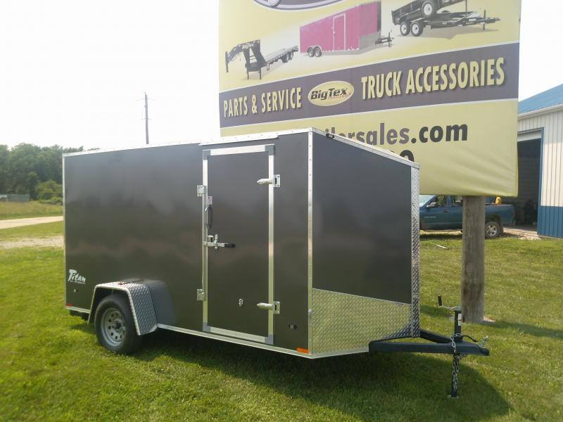 2015 Stealth Trailers Titan Cargo / Enclosed Trailer
