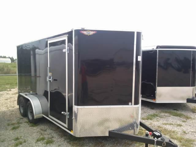 2013 H and H Trailer CA Series Cargo / Enclosed Trailer