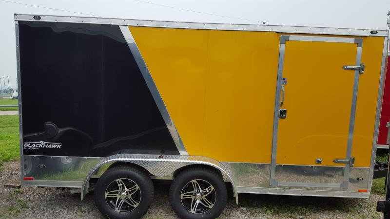 2016 Stealth Trailers Black Hawk Cargo / Enclosed Trailer