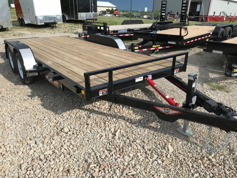 2018 H and H Trailer Tiltbed Car / Racing Trailer