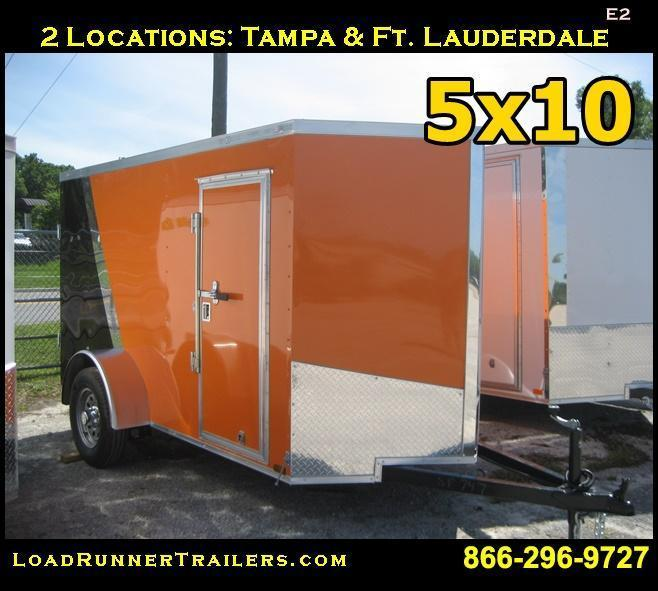 E2| 5x10*Enclosed*Trailer*Cargo* | LR Trailers | 5 x 10