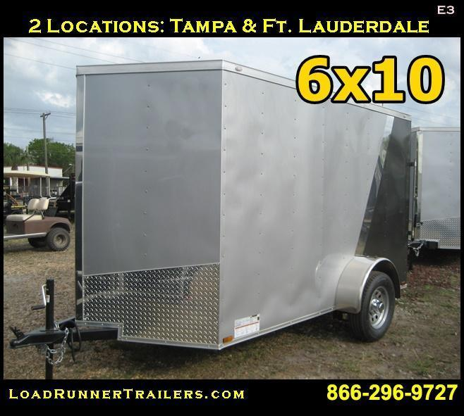 E3| 6x10 *Enclosed*Trailer*Cargo*| 6 x 10 | Load Runner Trailers