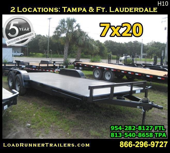 2018 Loadrunner Trailers Trailer CH82-20T5-2B-SD Car / Racing Trailer