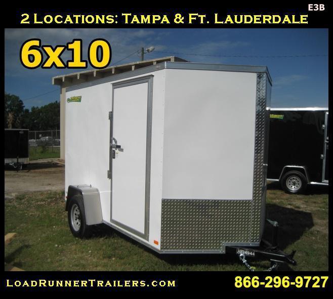 E3B| 6x10*Enclosed*Trailer*Cargo* | Load Runner Trailers | 6 x 10 | E03B