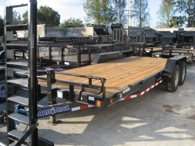 *H69* 7x20 Load Trail Car Hauler Trailer w/Drive Over Fenders 7 x 20 | CH83-20T7-DOF