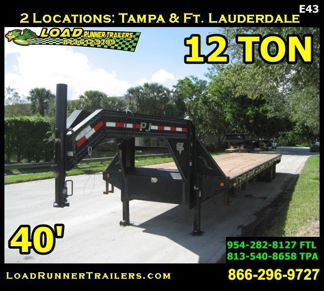 *F98* 8.5x40 12 TON Flatbed Butt End 8.5 x 40   FG102-40T12-BE