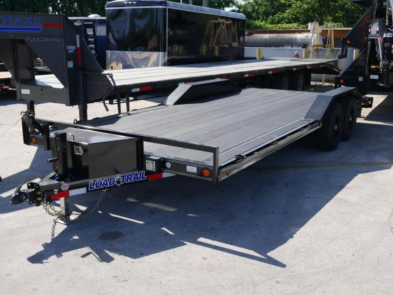 *108107* 8.5x20 Load Trail Car Trailer w/Blackwood Deck |LRT Trailers & Haulers 8.5 x 20