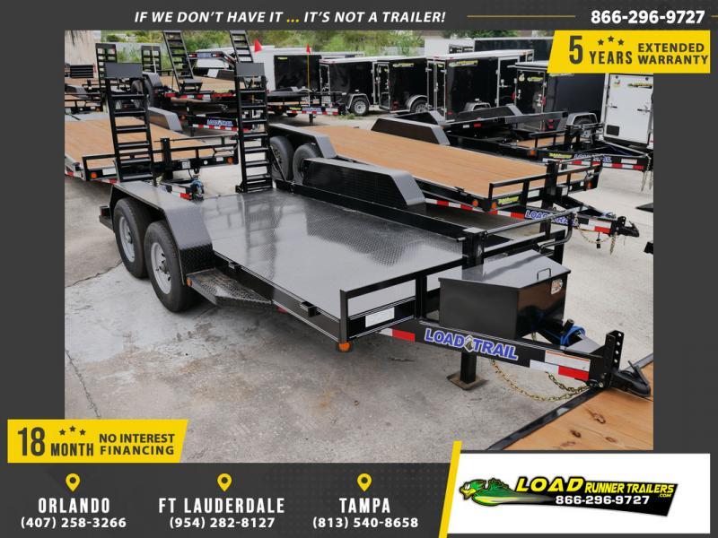 *107781* 7x14 Bobcat Hauler Trailer  LRT Tandem Axle Trailers 7 x 14