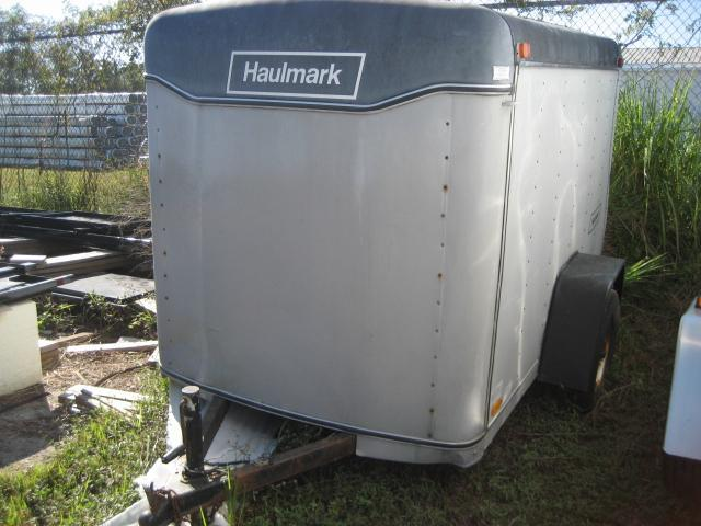 *EU99* 5x8 2001 Haulmark Enclosed Cargo Trailer 5 x 8   EF5-8S3-D