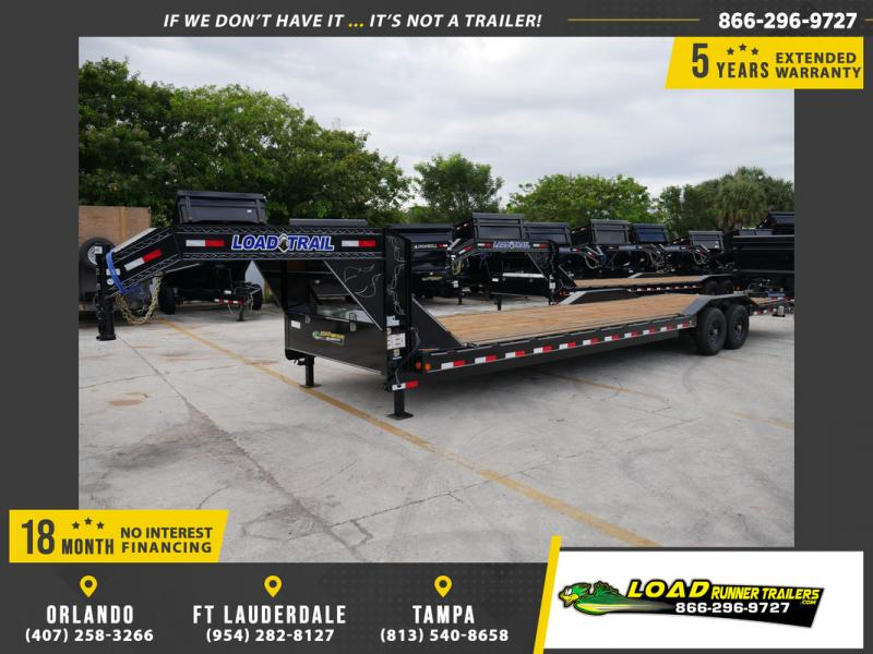 *107253* 8.5x32 Load Trail Gooseneck Car Hauler Trailer |Tandem Axle Trailers 8.5 x 32