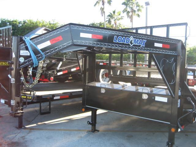 *H46* 8.5x32 Gooseneck Equipment Hauler Trailer |Drive Over Fenders 8.5 x 32 | EQG102-32TT7-DOF/MPD