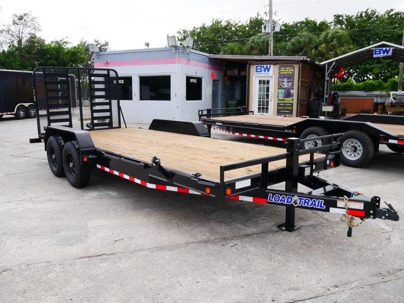 *106526* 7x20 Equipment Hauler Trailer Heavy Duty Trailers 7 x 20