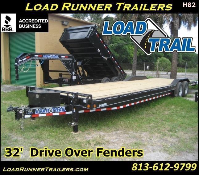 *H82* 8.5x32 7 TON Car Hauler Trailer Trailers 8.5 x 32   CH102-32T7-DOF
