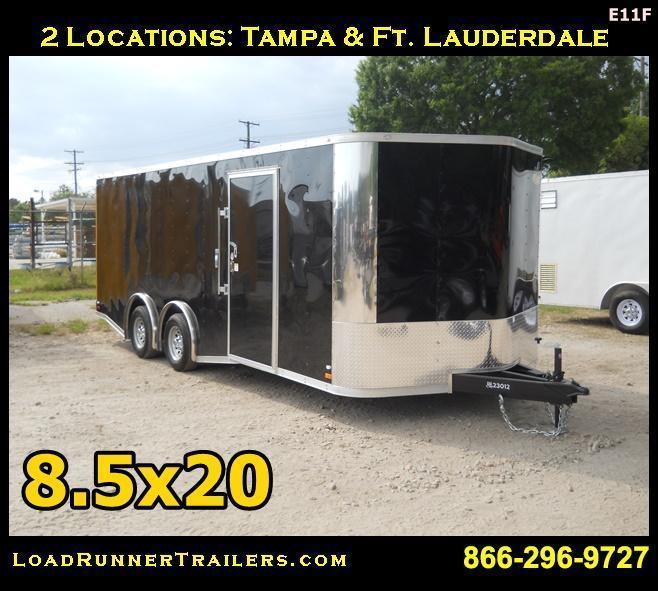 E11F| 8.5x20*Enclosed*Trailer*Cargo*Car*Hauler*|LR Trailers | 8.5 x 20 |E11F