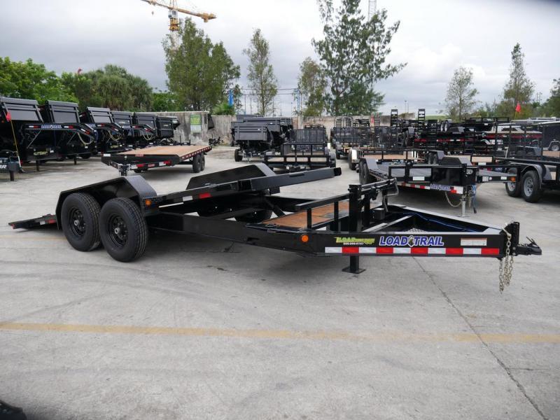 *105998* 7x16 Tilt Deck Trailer  LRT Tandem Axle Trailers 7 x 16   T83-16+2T7T-GT