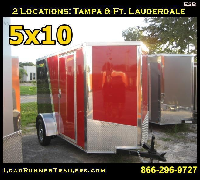 E2B| 5x10*Enclosed*Trailer*Cargo* | LR Trailers | 5 x 10 | E2B