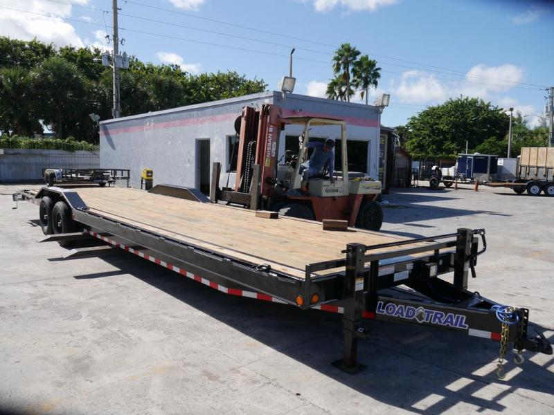 *107356* 8.5x32 32' Load Trail Bumper Pull Car Trailer |LRT Tandem Axle Trailers 8.5 x 32