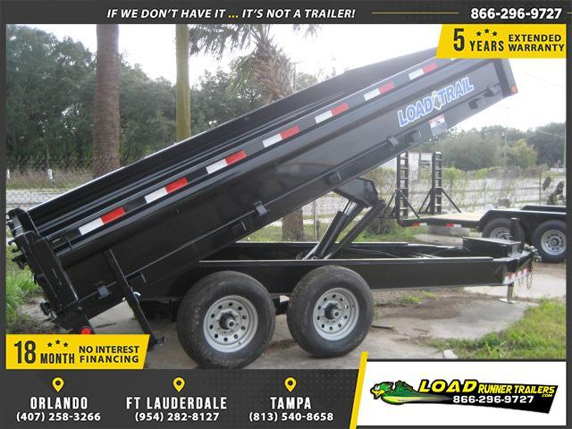 *DB32* 8x14 7 TON Dump Trailer LR Dumps & Trailers 8 x 14 | D96-14T7-18S