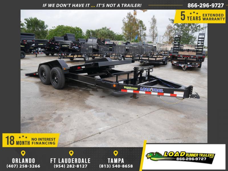 *108177* 7x16 Tilt Deck Trailer  LRT Tandem Axle Trailers 7 x 16