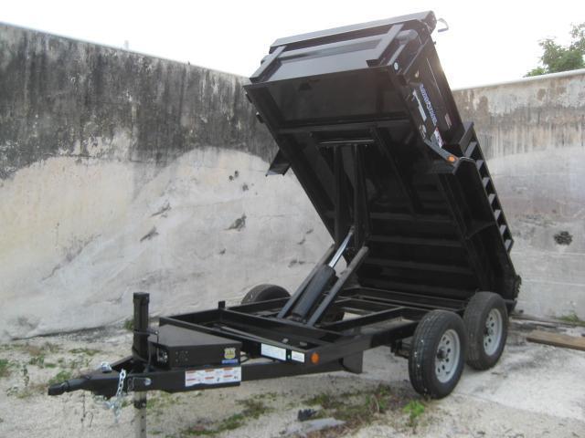 *D15* 5x10 Load Trail 7K Dump Trailer Tandem Axle 5 x 10 | D60-10T3-18S