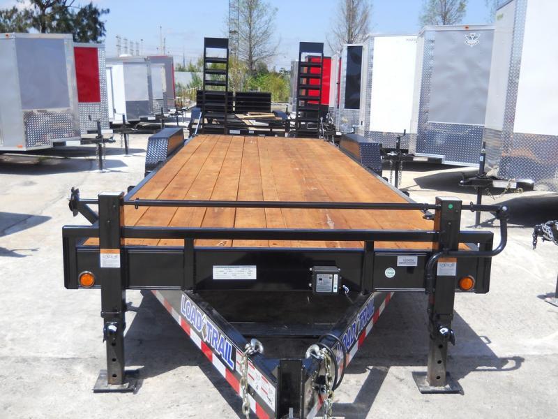 *EQ17* 7x24 7 TON Equipment & Car Hauler Trailer |LR Trailers 7 x 24 | EQ83-24T7-KR