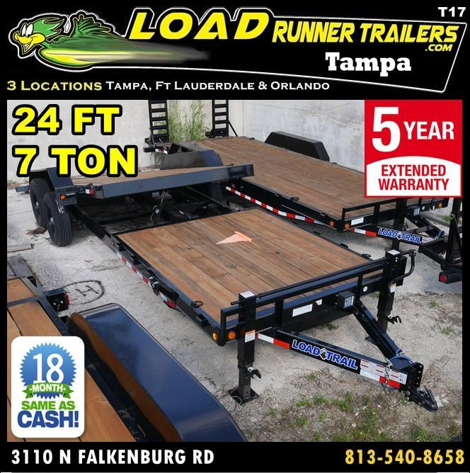 2018 Load Trail T81.5-168T7T-GT Equipment Trailer