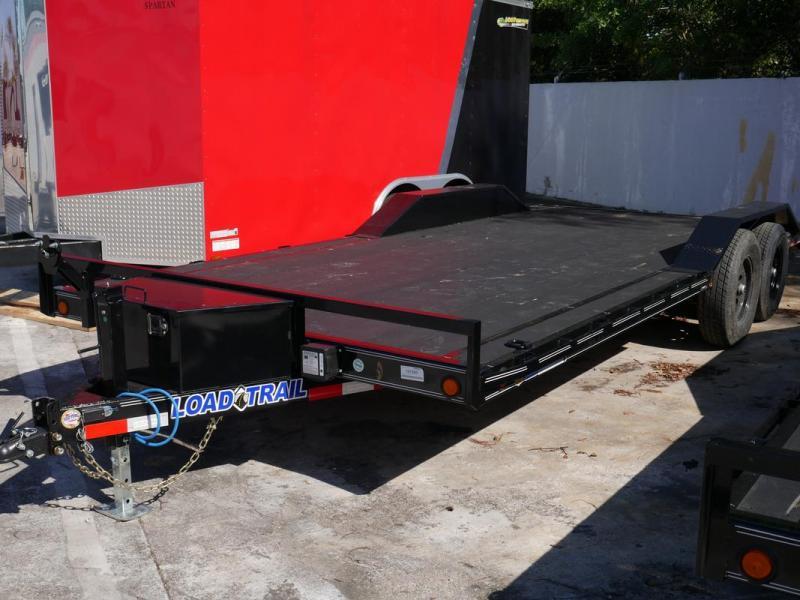 *108106* 8.5x20 Load Trail Car Trailer w/Blackwood Deck |LRT Trailers & Haulers 8.5 x 20