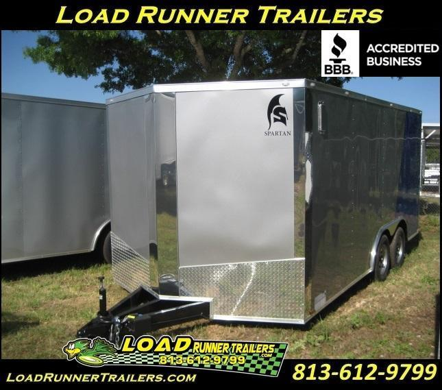 E10D  8.5x16*Enclosed*Trailer*Cargo*Car*Hauler* LR Trailers   8.5 x 16  E10D
