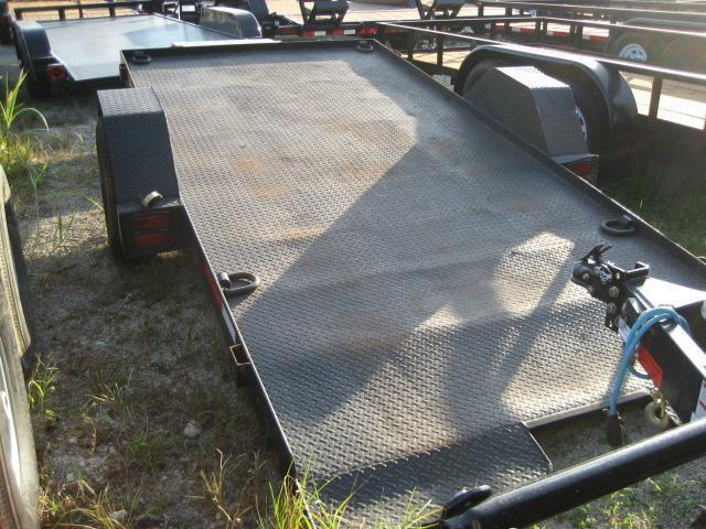 *H73* 6x13.5 5K Steel Deck Tilt Deck Equipment Hauler Trailer 6 x 13.5 | T74-13.5S5-SD/GT