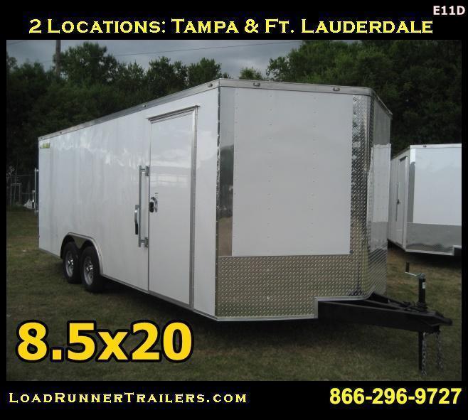 E11D| 8.5x20*Enclosed*Trailer*Cargo*Car*Hauler*|LR Trailers | 8.5 x 20 |E11D
