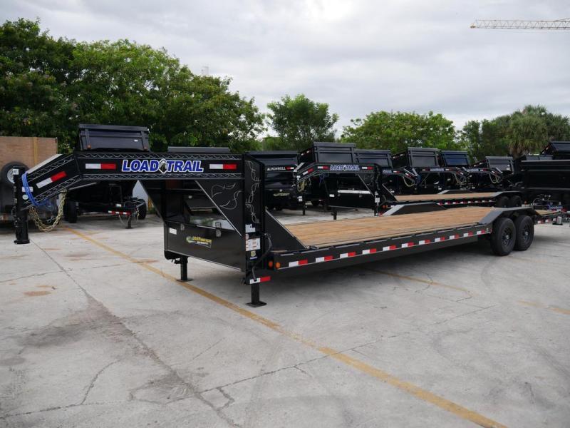 *107253* 8.5x32 Load Trail Gooseneck Car Hauler Trailer |Tandem Axle Trailers 8.5 x 32 | CHG102-32T7-DOF