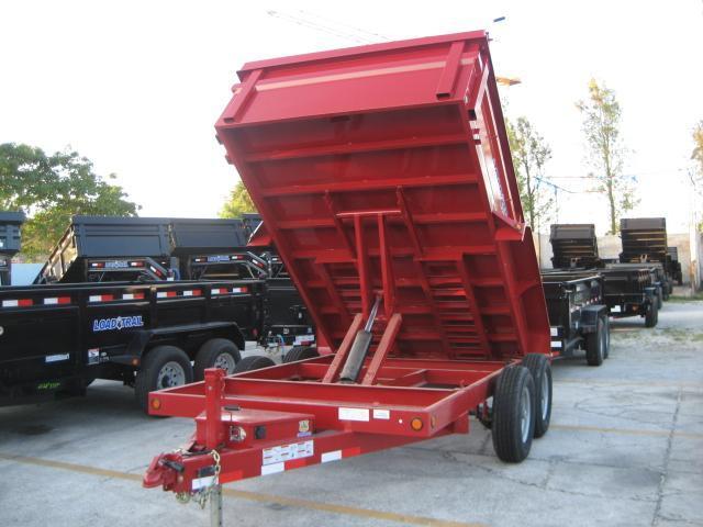 *D29* 7x12 7 TON Load Trail Dump Trailer 7 x 12 | D83-12T7-24S