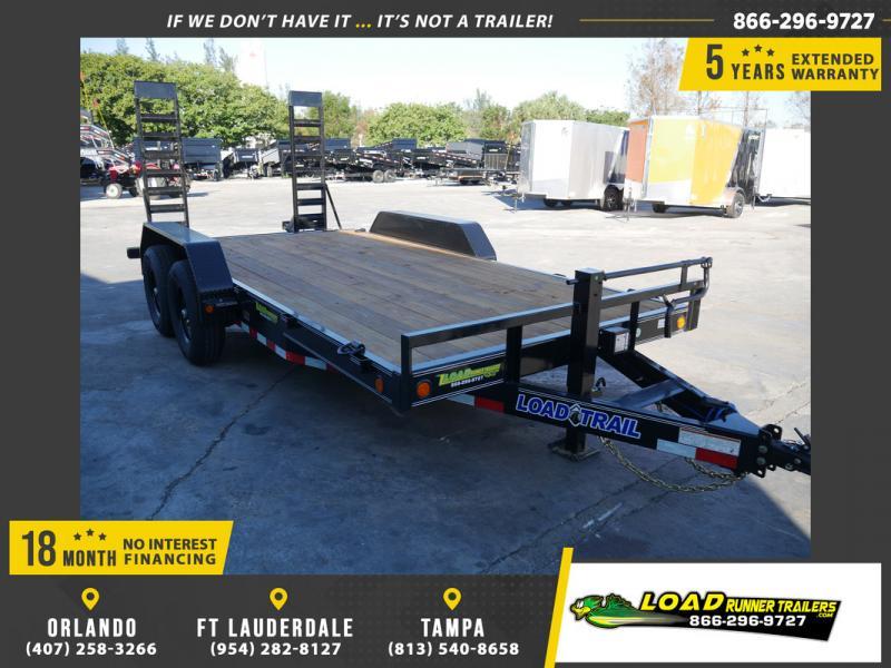 *108476* 7x16 Equipment Trailer |LRT Tandem Axle Trailers 7 x 16