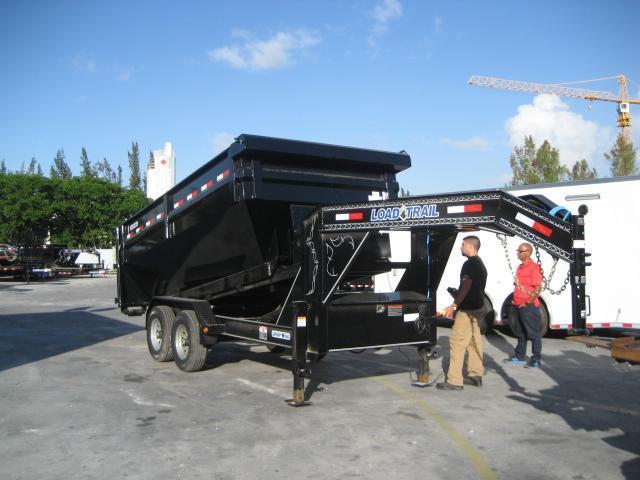 *D27* 7x14 Dump N Go Frame|Dual Hydraulics Trailer w/Winch 7 x 14 | DNG83-14T7-FRAME