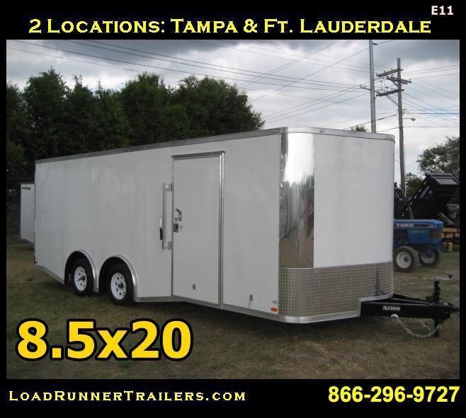 E11| 8.5x20*Enclosed*Trailer|LR Trailers | 8.5 x 20 *Cargo*Car*Hauler*