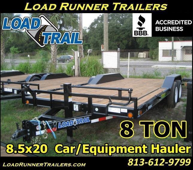 H33  8.5x20 Car / Equipment Hauler Trailer 8 TON   Trailers & Haulers   H33