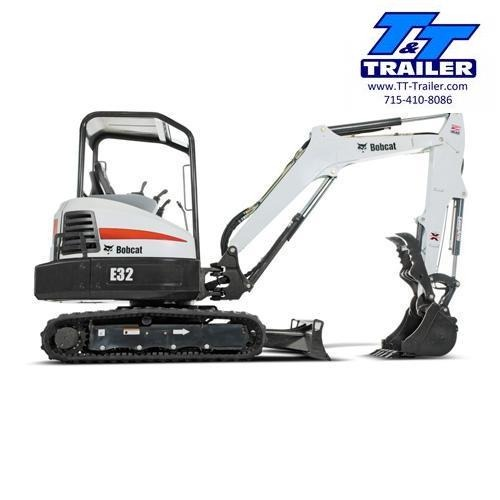 E32 Bobcat Mini Excavator with Thumb